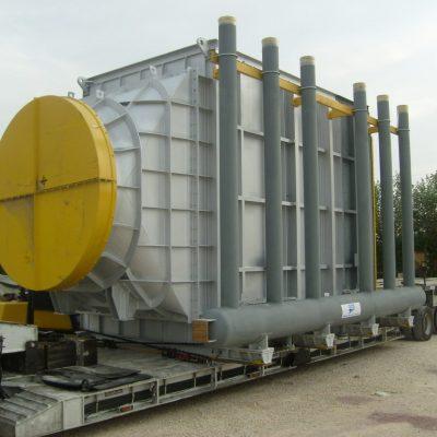 Waste Heat Boiler in SA516 Gr. 70 / SA 210 A1 / SA 213 T91 / SA 213 T11 at Samref Refinery – Size: 90 t – Saudi Arabia