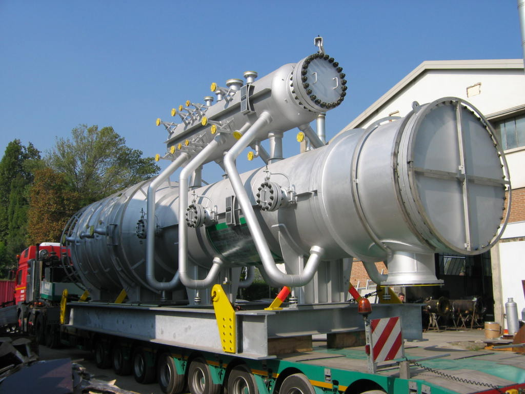 Incinerator Package (Waste Heat Boiler + Steam Drum) in SA 516 Gr.70 at Mongstad plant – Size: 121 t - Norway
